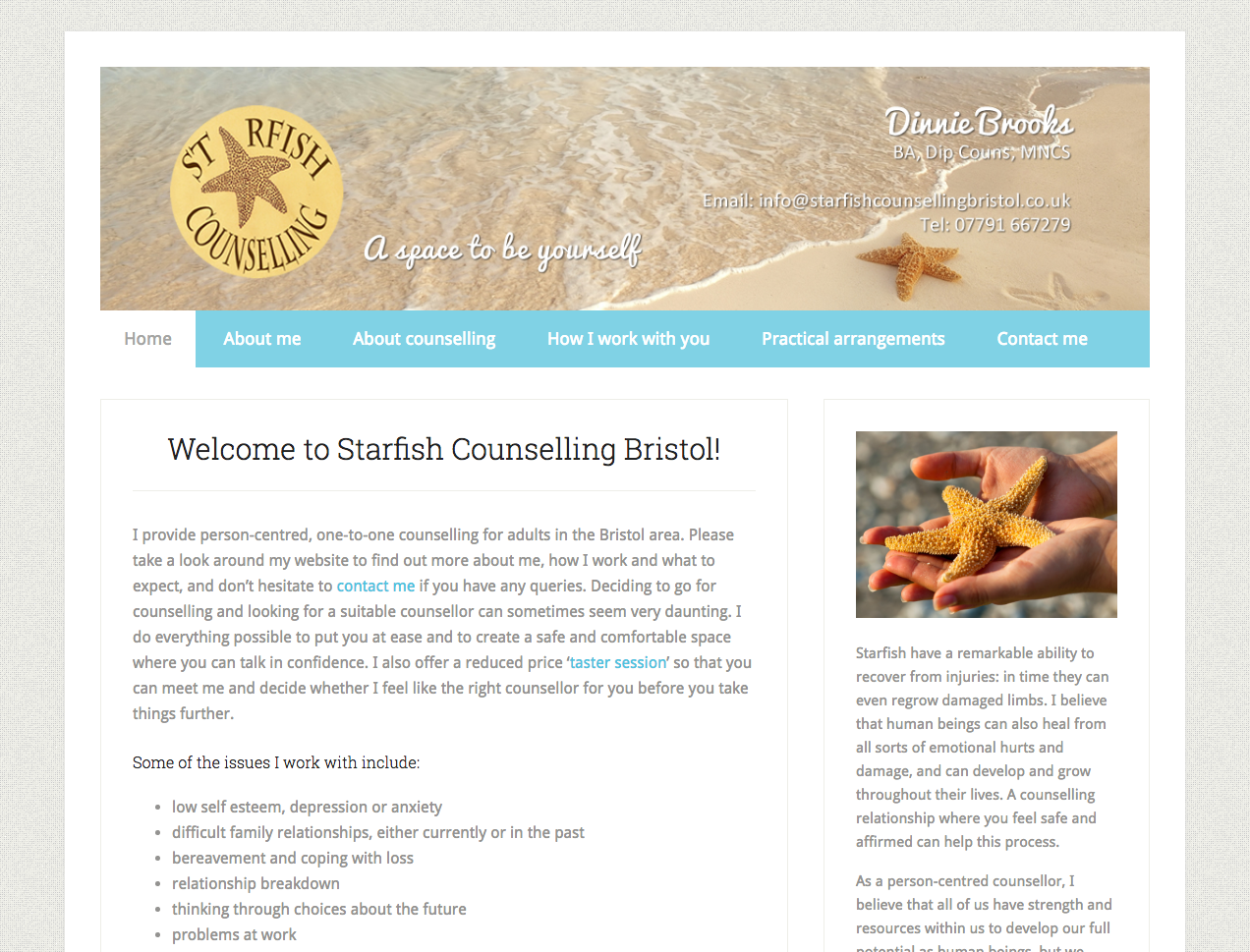 Starfish Counselling Bristol