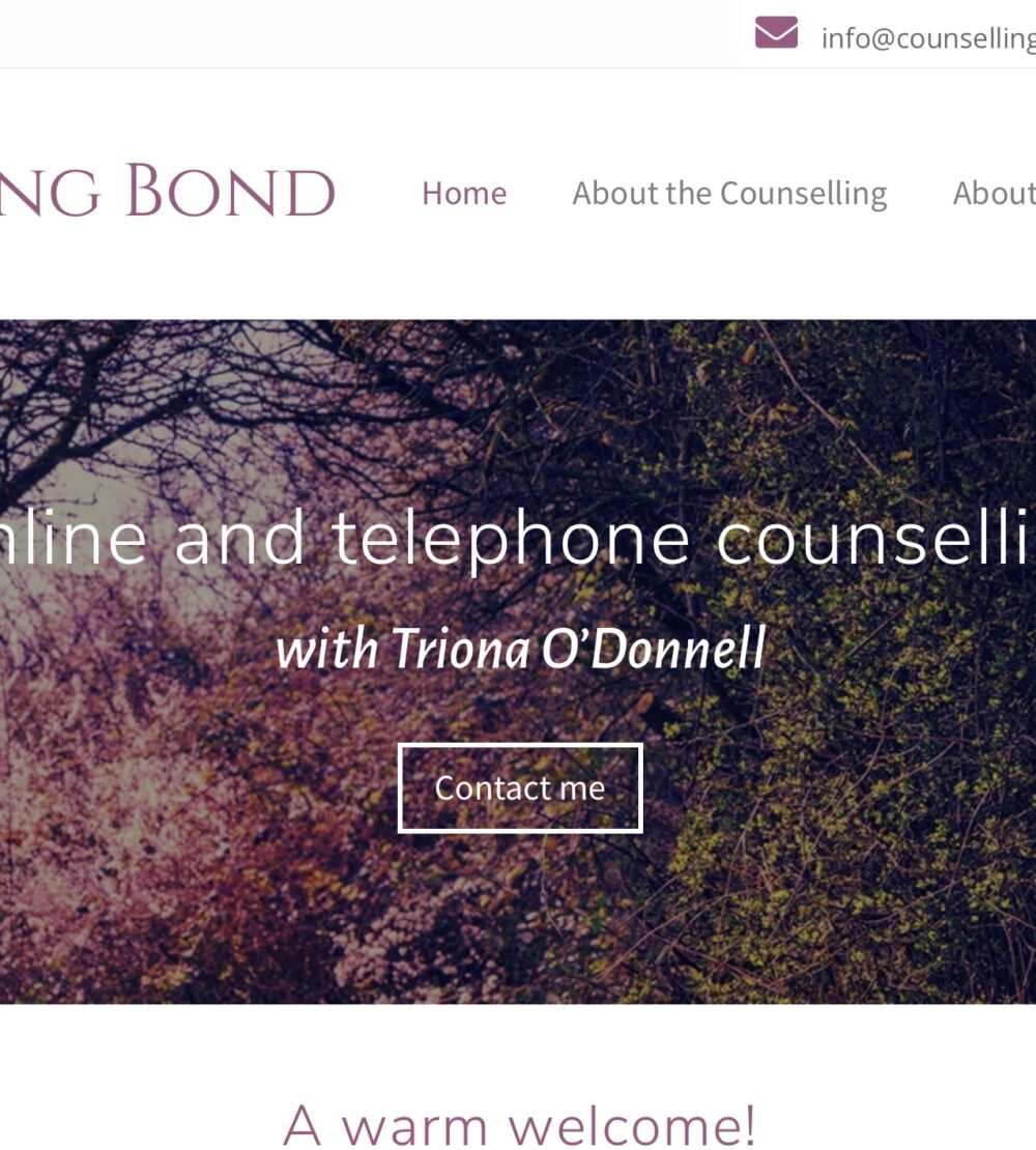 Counselling Bond, online counselling and telephone counselling UK