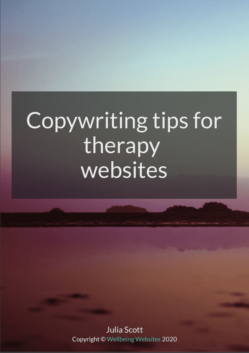 Copywriting tips for therapists