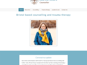 Kate Carruthers, counsellor in Bristol