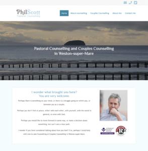 Phil Scott, Counsellor in Weston-super-Mare