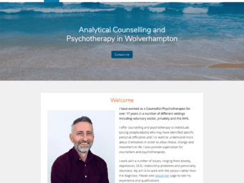 Shane Sneyd, counsellor and psychotherapist in Wolverhampton