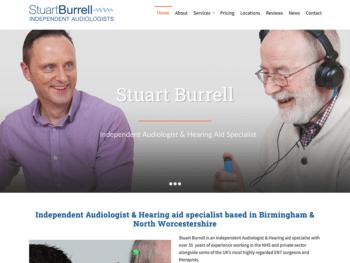 Stuart Burrell, audiologist in Birmingham